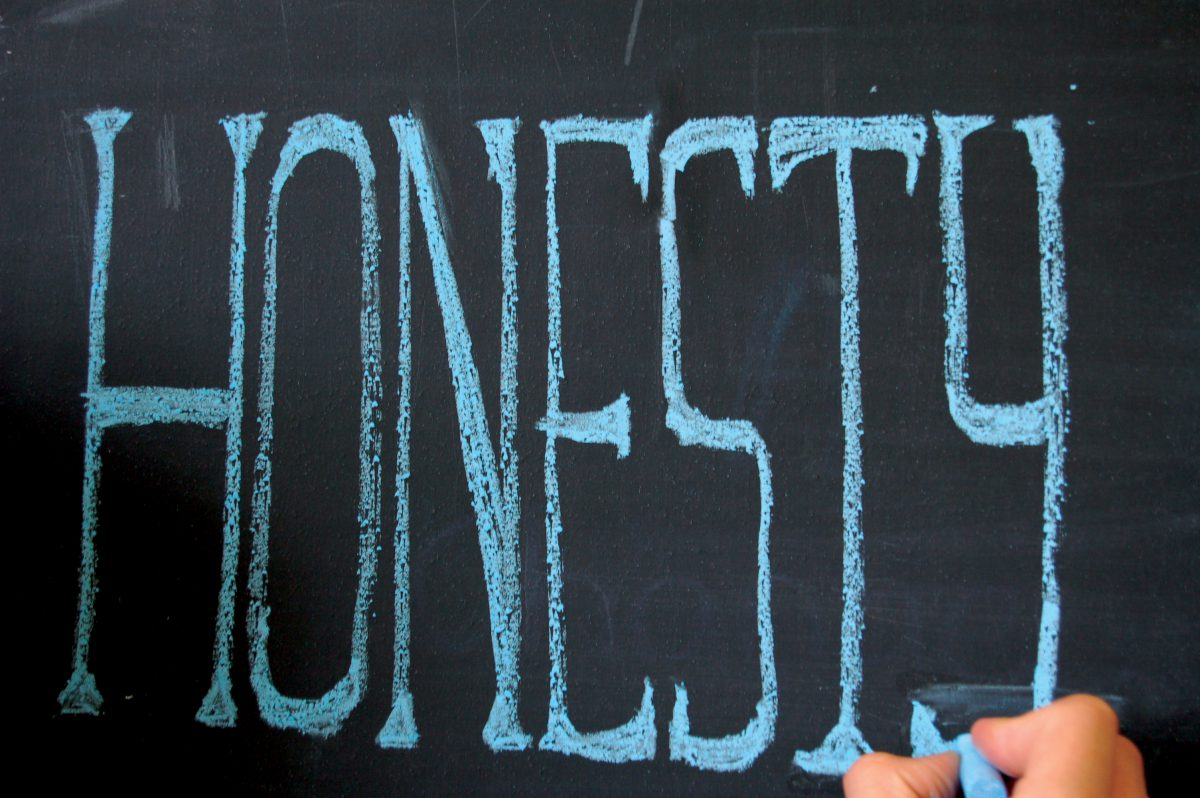 Virtue of the Month: Honesty